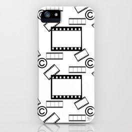 Film © pattern iPhone Case