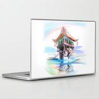 vietnam Laptop & iPad Skins featuring Vietnam by tatiana-teni