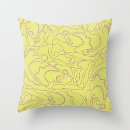 Pastel Pattern III Throw Pillow