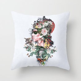 Queen of Nature Throw Pillow