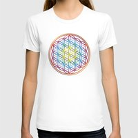 flower of life T-shirts featuring the flower of life by Li-Bro