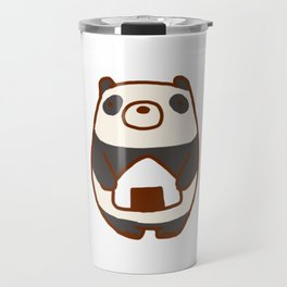 Panda Loves Onigiri Travel Mug