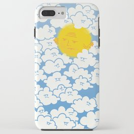 Cloud Control iPhone Case