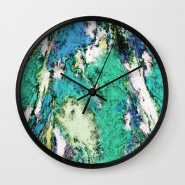 The second rockslide Wall Clock