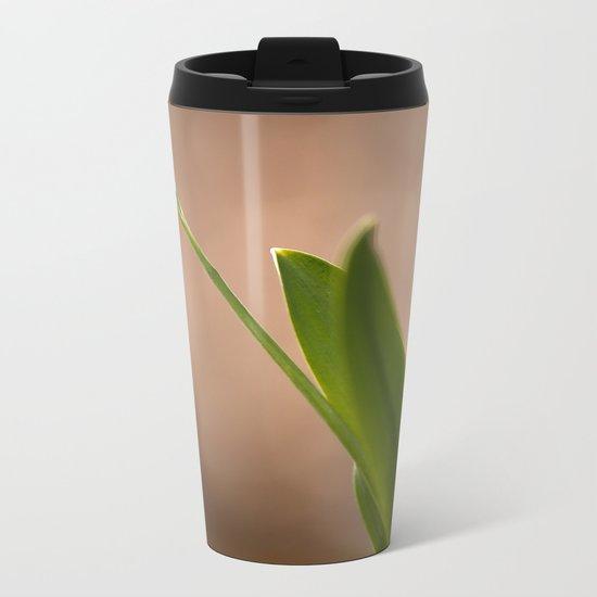 Spring Flower Snowdrop  Metal Travel Mug