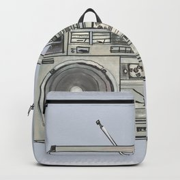 Boombox Radio Backpack