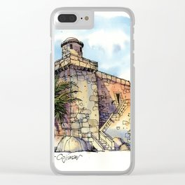 Hemingway's Cuba:  Fortress at Cojimar Clear iPhone Case