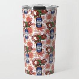 Furphy - An Australian Beer Pattern - Pincushions and Protea Travel Mug