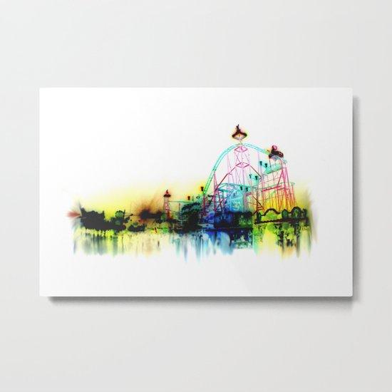 white fair. Metal Print