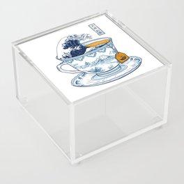 The Great Kanagawa Tee Acrylic Box
