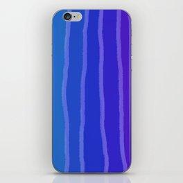 Vertical Color Tones #3 iPhone Skin