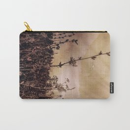 Last flowers of autumn Carry-All Pouch