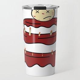 Cannibal Cake Travel Mug