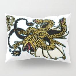 King Ghidora Kaiju Print FC Pillow Sham