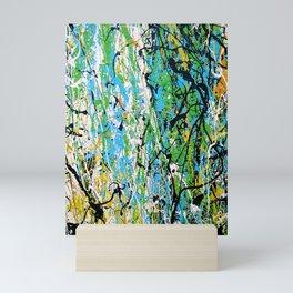 Echoed Splatter Mini Art Print