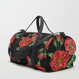 Roses Are Pugs Duffle Bag