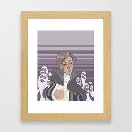 Ghost Mafia Princess Framed Art Print
