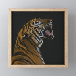 Tigre Framed Mini Art Print