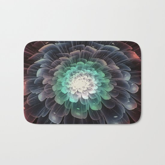 Abstract Flower - Glory of Evil Bath Mat