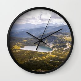 The downest lake Wall Clock
