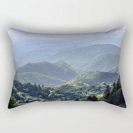 Smoky Mountain Sunsets - Wanderlust Nature Photography Rectangular Pillow