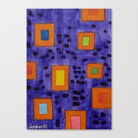 frames Canvas Prints featuring Illuminated Frames by Heidi Capitaine