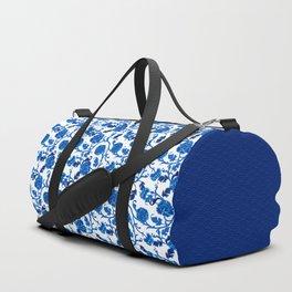Peonies Oriental Ceramic Duffle Bag