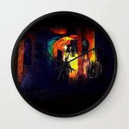 Ill-Fated Entry Wall Clock