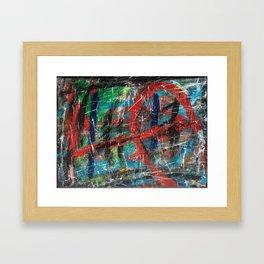 Hick Spit  Framed Art Print