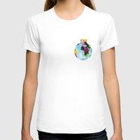 globe T-shirts featuring Globe Bauble by Bridget Davidson