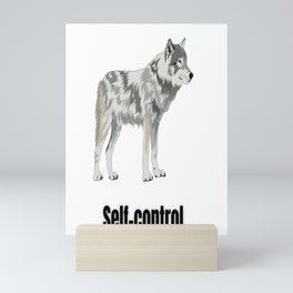 Self Control   Myself   Gifts for her   Gifts for him   Large Size   Control   Self care Mini Art Print
