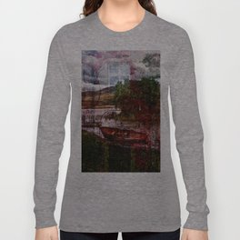 Painted Boat Long Sleeve T-shirt