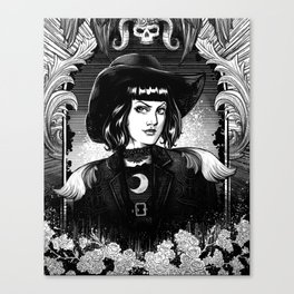 Bewitching Mirror Canvas Print