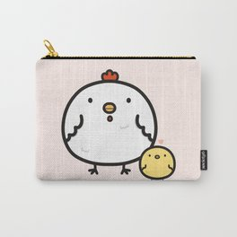 Cute chick and chicken Carry-All Pouch