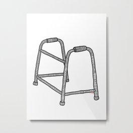Walker Recovery Metal Print