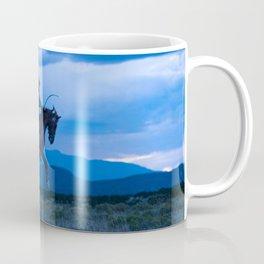Santa Fe Cowboy Being Bucked Off Coffee Mug