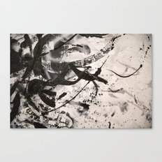 LOSSY Canvas Print