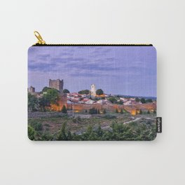 Braganca, Portugal at dusk Carry-All Pouch
