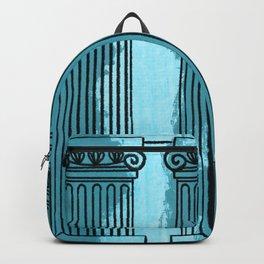 Ionic columns - artprint Backpack