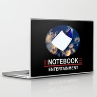 notebook Laptop & iPad Skins featuring Notebook Entertainment 2 by NotebookFilms