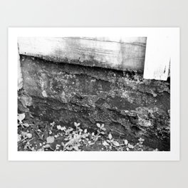 IF THESE OLD WALLS COULD SPEAK Art Print
