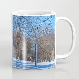 Toledo Botanical Arch in Winter II Coffee Mug
