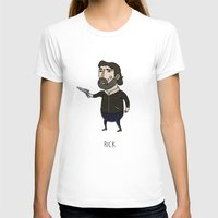 rick grimes T-shirts featuring The Walking Dead, Rick Grimes by Jarvis Glasses