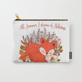 All Summer I Dream Of Autumn Carry-All Pouch