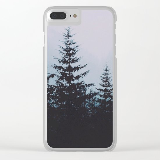 Atelophobia Clear iPhone Case