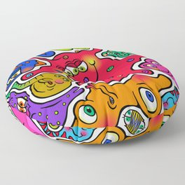 Jigsaw Germs Floor Pillow