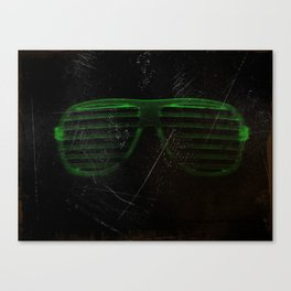 Electro Glasses Canvas Print