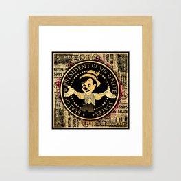 The Presidential Pinocchio Framed Art Print