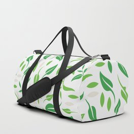 Tea leaves pattern Abstract Duffle Bag