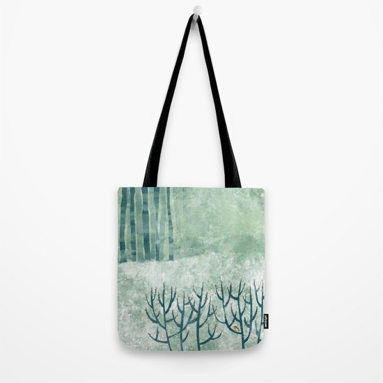 Cold Hedgerow Tote Bag